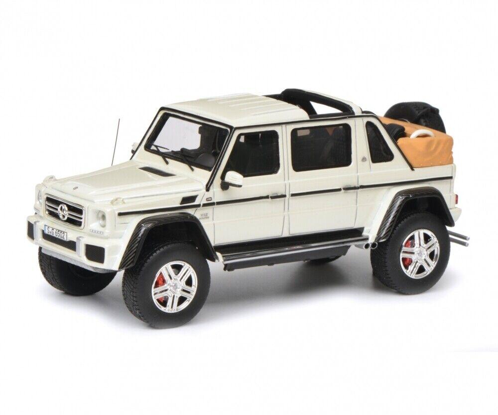 450900500 - Schuco Mercedes-Maybach g650-Blanc (09005) - 1 43