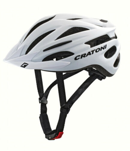Cratoni Vélo Casque Casque Pacer blanc mat MTB Taille L//XL 58-62 cm