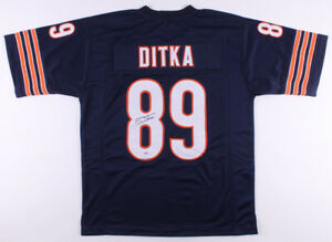 Autographed Chicago Bears Mike Ditka Jersey | eBay