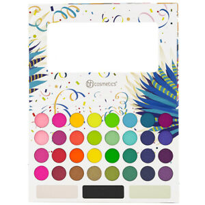 New Bh Cosmetics 35 Color Take Me Back To Brazil Eyeshadow Palette