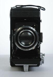 SOFFIETTI-fotocamera-ZEISS-IKON-Compur-Novar-Anastigmat-3-5-10-5cm
