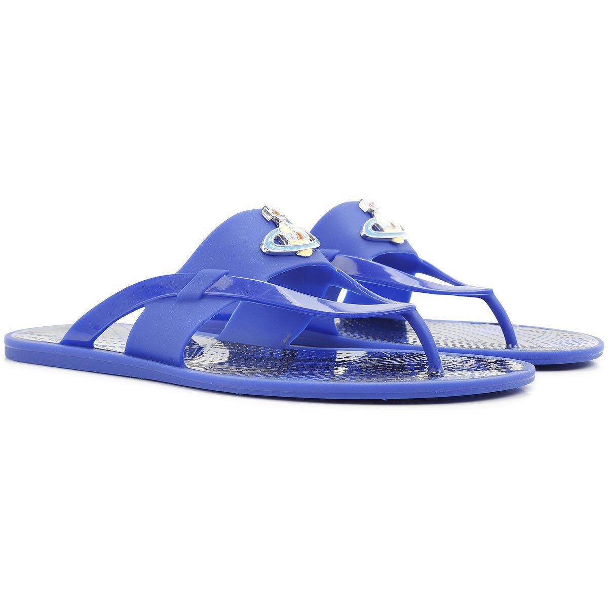Vivienne Westwood flip  flop Orb smaltato Sandal, capovolto a smalto Sandal  grandi risparmi