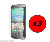 3x HQ MATTE ANTI GLARE SCREEN PROTECTOR COVER LCD FILM GUARD FOR HTC ONE MINI 2
