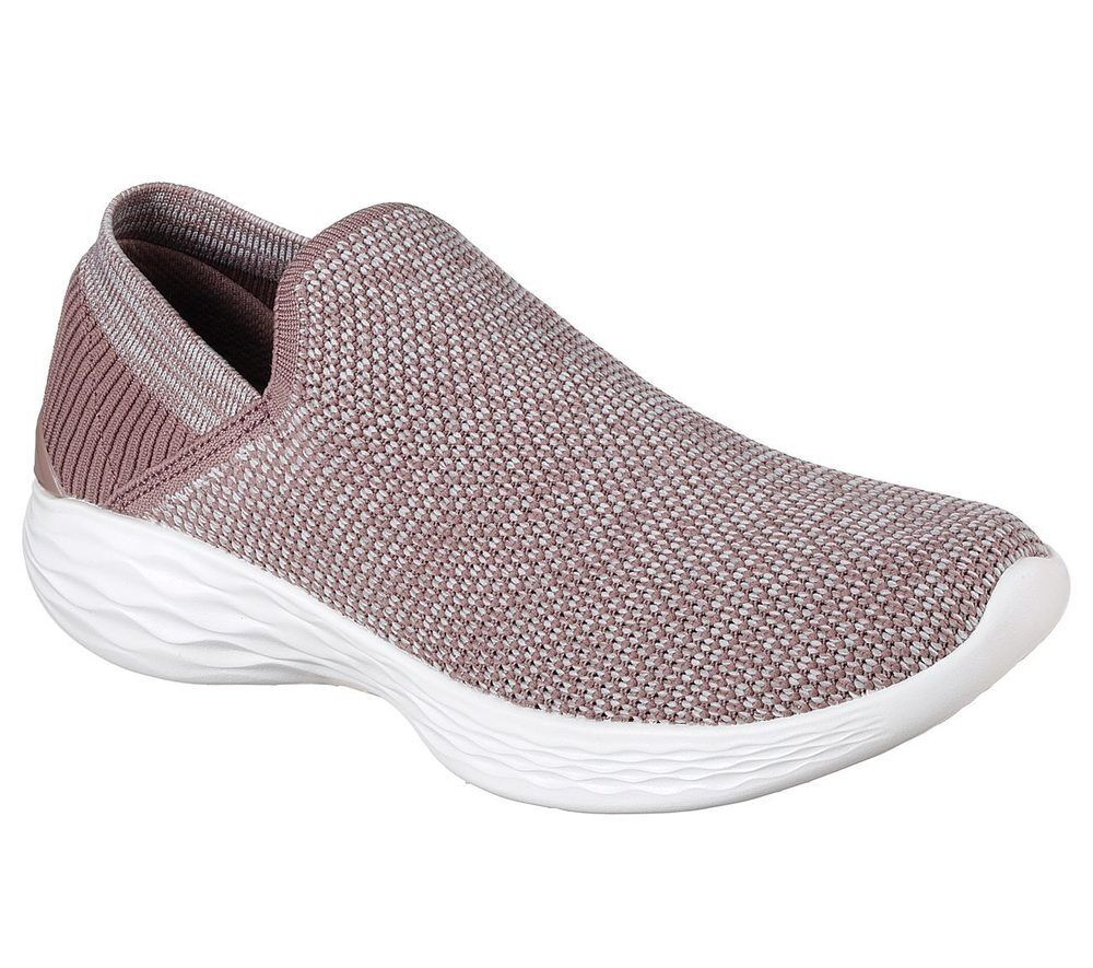 NUOVO Skechers da donna Sneakers Tempo Slipper Scarpe Per Il Tempo Sneakers Libero Scarpe Estate you-Rise Rosa 59da4e