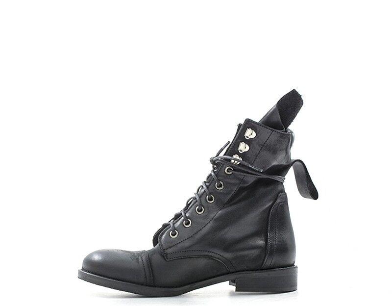 shoes REBECCA VAN DIK Femme Femme Femme black Cuir naturel KAROL04NAB-NE 34cbc2