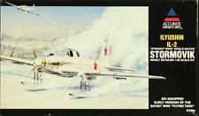 Accurate Miniatures 1:48 Ilyushin IL-2 Stormovik Ski Equipped Model Kit #3409U