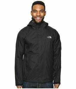 The North Face Mens Venture 2 Waterproof Rain Jacket Small TNF Black