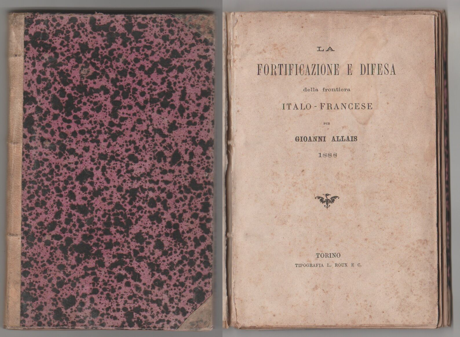 La fortificazione e la difesa della frontiera italo-francese