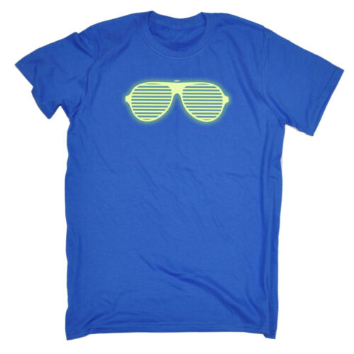 Funny Kids Childrens T-Shirt tee TShirt Rave Glasses Glow In The Dark