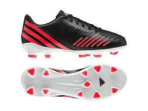 Juventud unos pocos Afectar  adidas Predator Absolion LZ TRX FG 2012 Soccer Shoes Black / Red Kids -  Youth | eBay