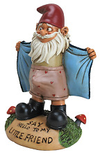 Perverted Little Gnome Statue Funny Art Sculpture Outdoor Lawn Decor Patio Yard