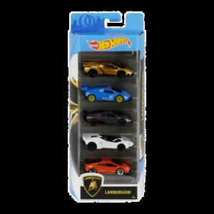 Lamborghini-Pack-5-Hot-Wheels-2020-Mattel-Nuevo