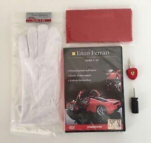 Lotto-Enzo-Ferrari-Scala-1-10-Deagostini