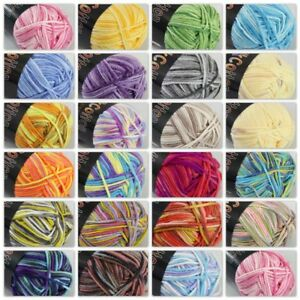 Clothing, Shoes & Accessories Socks Sale 1ballx50g Soft Cotton Baby Yarn New Hand-dyed Wool Socks Scarf Knitting