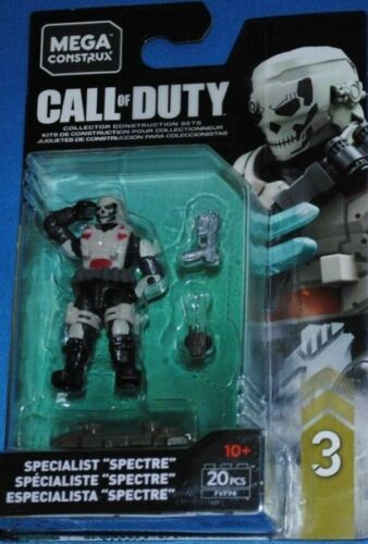 Mega Construx Call of Duty SPECIALIST SPECTRE Series 3 Figure