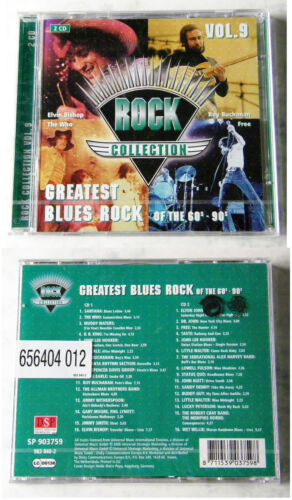 1 von 1 - Rock Collection Vol. 9 Greatest Blues Rock 60´s-90´s - Roy Buchanan... DO-CD OVP