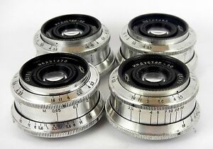 4-pieces-of-Soviet-Lens-INDUSTAR-50-3-5-50-M39-SLR-USSR