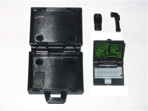 Agentes-set con maleta binoculares y linterna 1:18 portátil