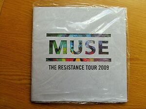 MUSE-THE-RESISTANCE-TOUR-PROGRAMME-2009-MINT-SEALED-WITH-CARDS-AND-STICKERS