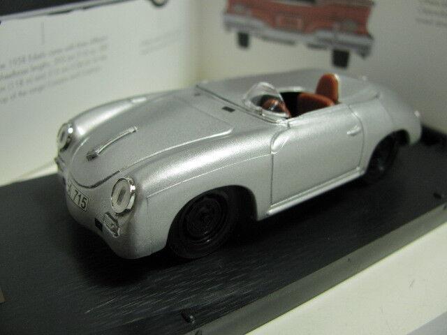 1/43 Porsche 356 Records Monza 1957 diecast made in Italy
