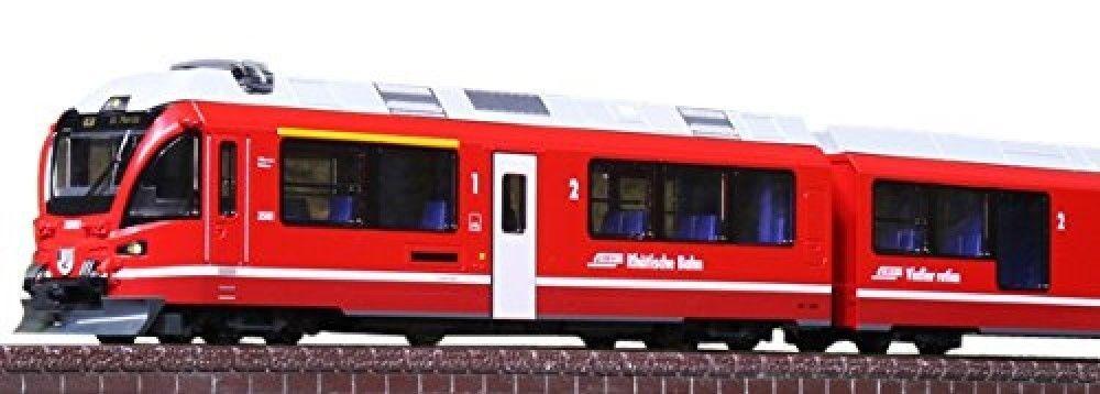 NUOVO Kato 101318 rhatische Bahn BERNINA EXPRESS Set di base 5auto scala N
