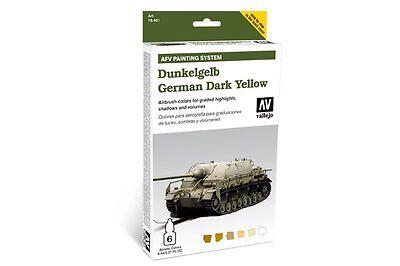 VALLEJO 78.401 AFV Painting system German Jaune foncé German dark yellow