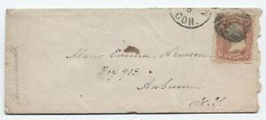 1860s-New-Haven-CT-65-cover-negative-star-of-david-fancy-cancel-y4247
