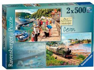 Ravensburger 2x500 piece jigsaw puzzles NO.3 picturesque Landscapes DEVON