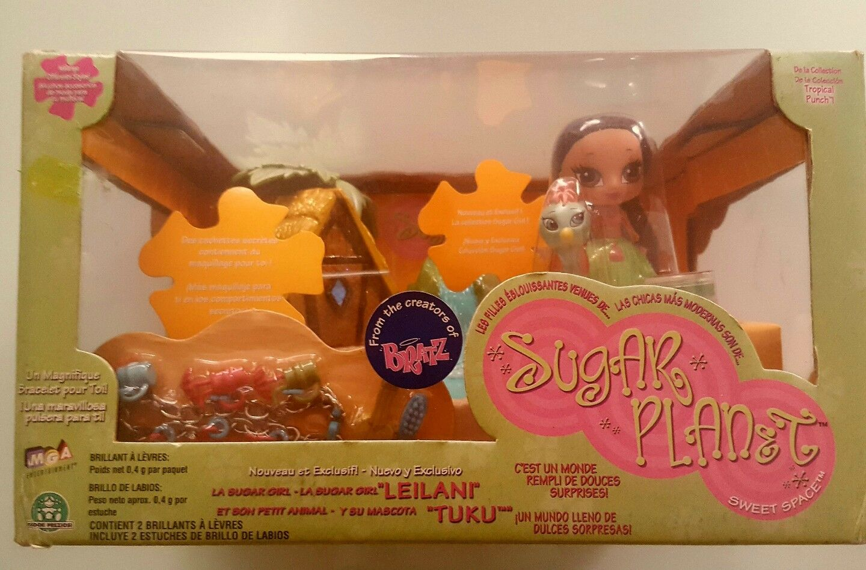 Factory sealed collector´s item Bratz Sugar Planet Leilani Exclusive Playset