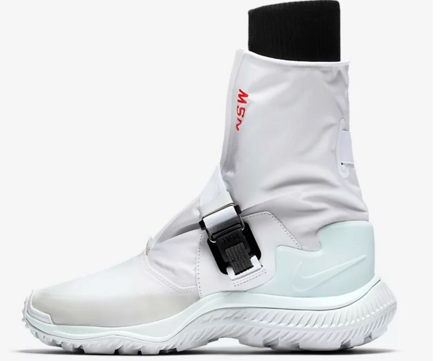 Nike NikeLab Wmns NSW Ghetta avvio Bianco verde d'orzo AA0528-100 UK7.5 US10
