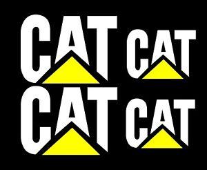 Caterpillar-Stickers-2-x-350mm-x-250mm-2-x-250mm-x-180mm-White