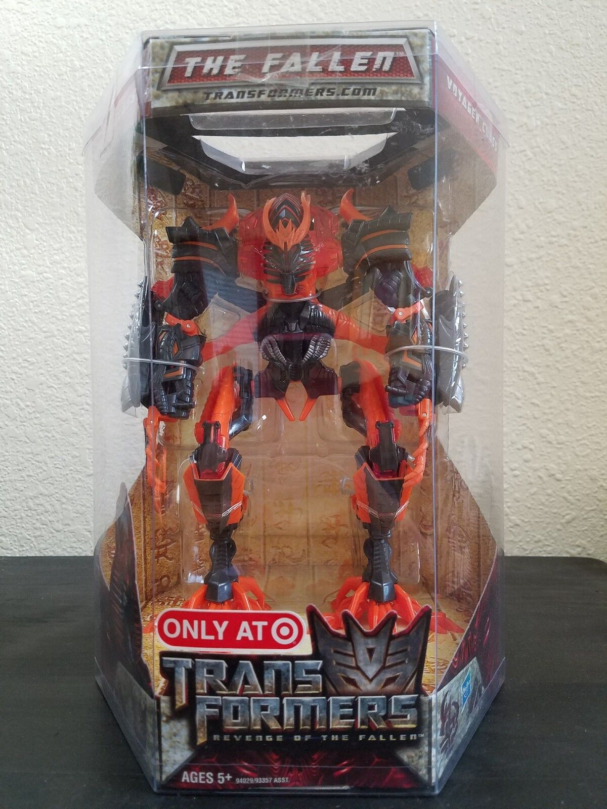Transformers Revenge Of The Fallen Voyager Class Target Exclusive