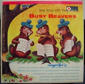 BUSY-BEAVERS-sing-along-with-the-LP-VG-C-4052-Vinyl-Record