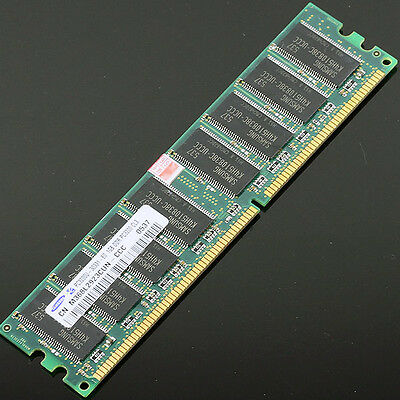 Samsung Chipset 1GB PC3200 DDR 400 Mhz Low density memory 2Rx8 CL3 DIMM DDR1 RAM