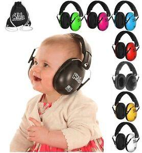 Edz-Kidz-BABIES-CHILDREN-DEFENDERS-RACING-NOISE-FESTIVALS-EAR-MUFFS-MUSIC-SHOWS
