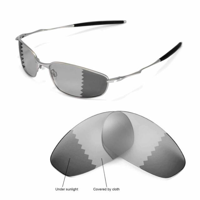 87a34074f9 Walleva Polarized Transition photochromic Lenses for Oakley Whisker ...