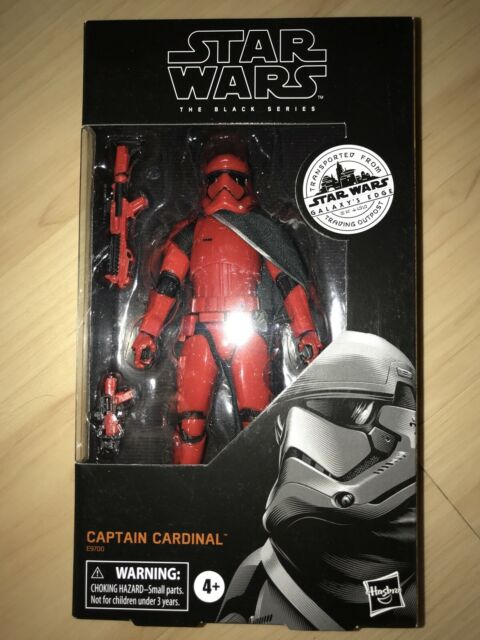 Star Wars Black Series Galaxy's Edge  CAPTAIN CARDINAL Target Exclusive  IN HAND