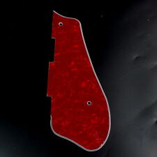 Custom Guitar Pickguard For Gretsch G5120 G5420T ,4ply Red Pearloid