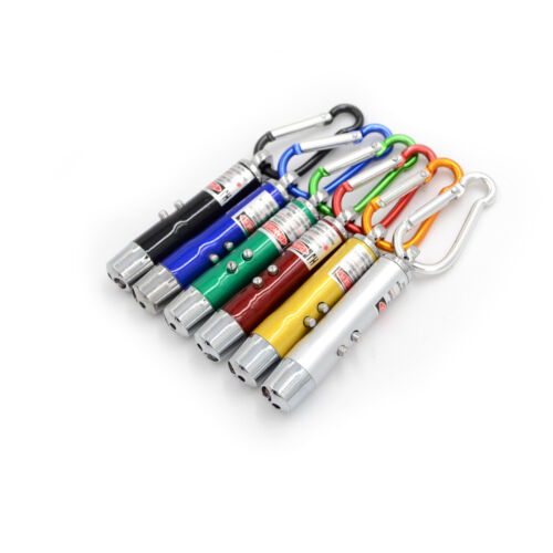 IR Laserpointer LED Mini Taschenlampe UV Back Light Schlüsselanhänger MoneyRSDE