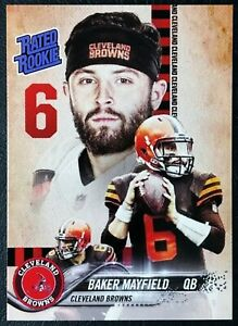 2018-Baker-Mayfield-Rated-Rookie-Custom-Card-Mint-Cleveland-Browns