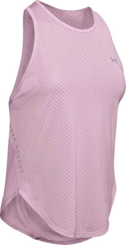 Under Armour Sport Graphic Womens Training Vest Tank Top Pink