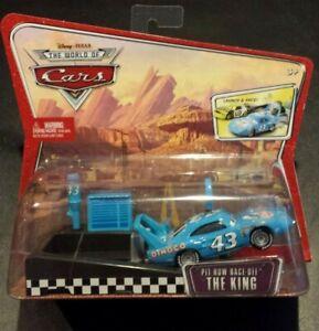 DISNEY-PIXAR-CARS-PIT-ROW-RACE-OFF-KING-LAUNCHER-WOC-SAVE-6-GMC