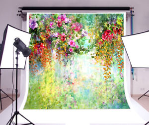 6x6FT Vinyl Photo Backdrops,Floral,Traditional Arabesque Design Photoshoot Props Photo Background Studio Prop
