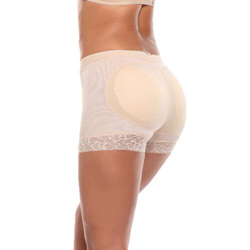 Frauen Padded Bum Pants Enhancer Former Panty Butt Lifter Boyshorts Unterwäsche