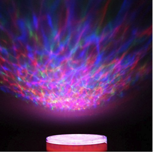 Details About Psychedelic Lamp Light Projector Sensor Relaxing Trippy Aurora Ocean Wave Led