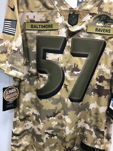 Baltimore Ravens C.J. Mosely Salute to Service Jersey   eBay
