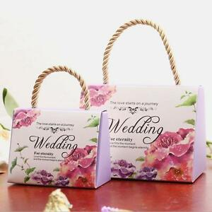 50-PIC-Bride-Groom-Bridal-Wedding-Party-Favor-Gift-Fashion-Candy-Boxes-Bags-New