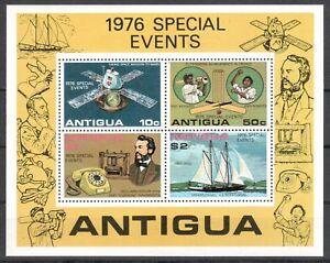 Antigua Michel Numéro Bloc 27 Cachet (outre-mer: 6756) Viking-afficher Le Titre D'origine