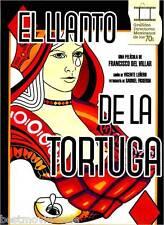 EL LLANTO DE LA TORTUGA (1975) ISELA VEGA JORGE RIVERO NEW DVD