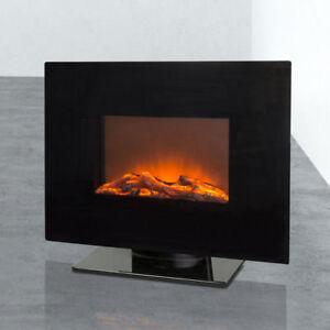 Das Bild Wird Geladen Stand Kamin Wand Elektro Heizgeraet 4 Fach Flammen